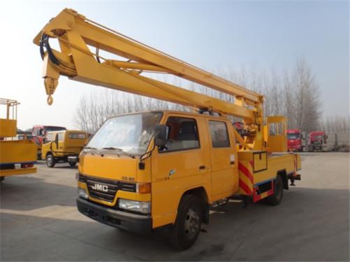 楚胜CSC5041JGKJ12型14米折叠臂高空