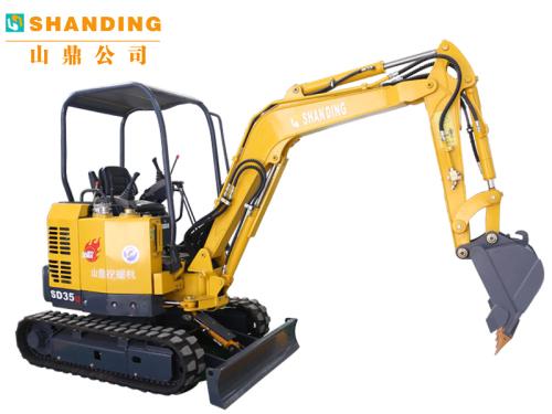 山鼎机械SD35U小型履带挖掘机