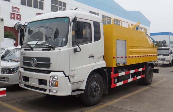 楚胜CSC5161GQWD5型清洗吸污车
