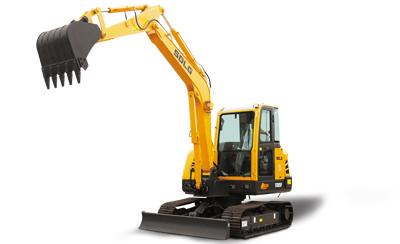 山东临工E655F小型液压挖掘机