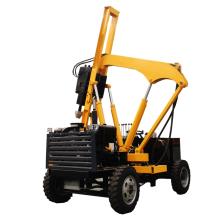 宜迅HWH260小型装载护栏打桩机高清图 - 外观