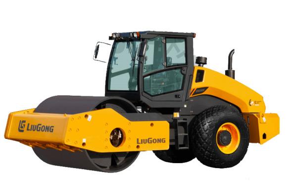 柳工CLG6620E双驱全液压单钢轮压路机