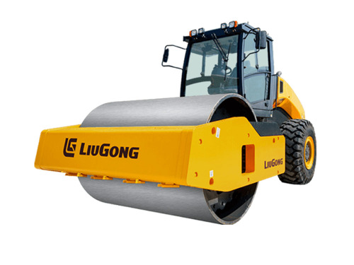柳工CLG6636E全液压双驱单钢轮压路机