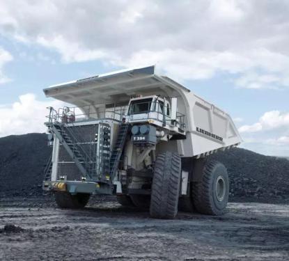 利勃海尔T284矿用卡车