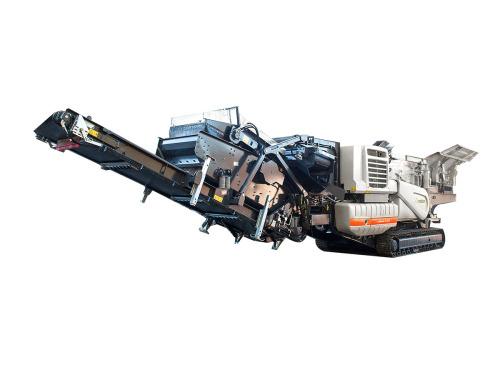 柳工LT1213S美卓履带式反击式破碎站