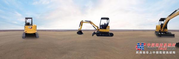 Cat® 303.5E敞篷版迷你型挖掘机