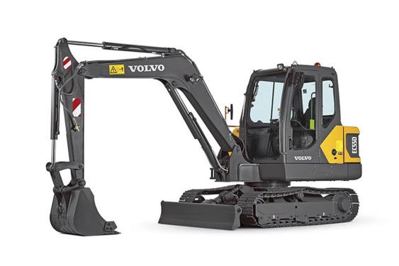 沃尔沃EC55D小型挖掘机