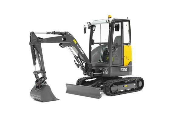沃尔沃ECR25D挖掘机