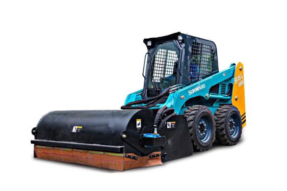山河智能SWL2820轮式滑移装载机