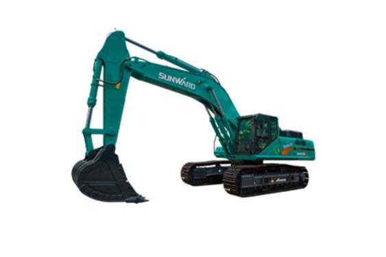 山河智能SWE500E-3大型挖掘机