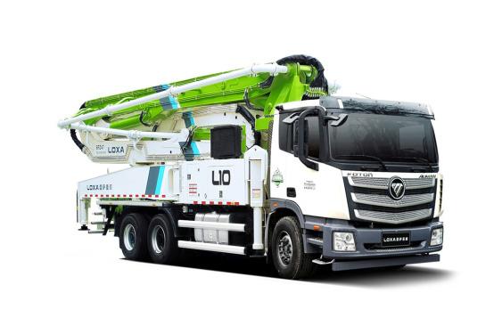 雷萨重机BJ5339THB-XD(L10-52米)泵车