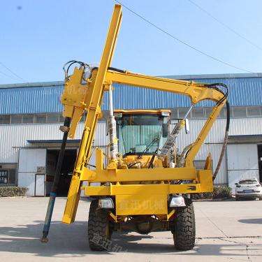 宜迅YX-940(3.5m³)护栏打桩机