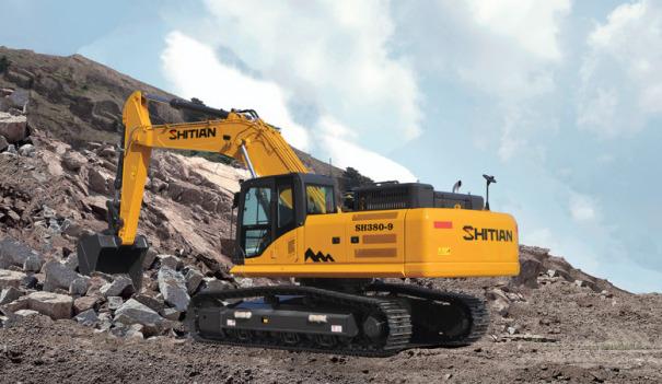 十田重工SH380-9挖掘机
