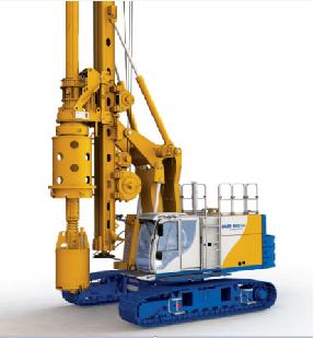 德国宝峨BG 23 H多功能型旋挖钻机 (BT 75 主机)