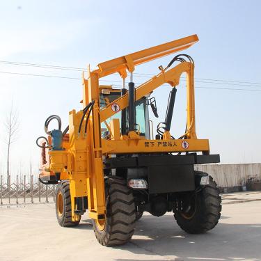 宜迅YX-950(10m³)护栏打桩机