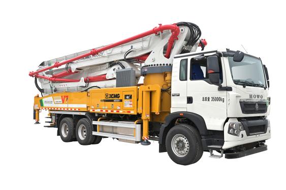 徐工HB50V(豪沃国五)泵车