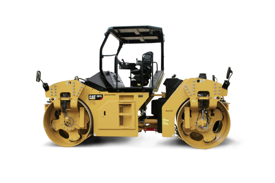 卡特彼勒CAT®CB15双钢轮压路机