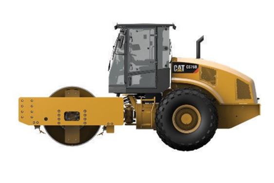 卡特彼勒CAT®CS76B单钢轮振动压路机