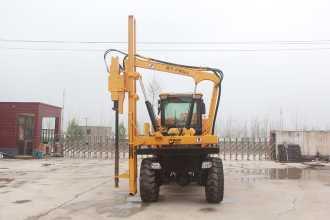 宜迅YX-950(10m³)护栏打桩机高清图 - 外观
