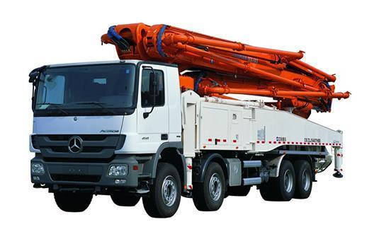 中联重科53X-6RZ复合技术泵车