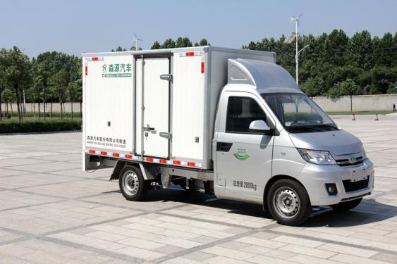 森源重工YBM5030XXYBEV型纯电动厢式运输车运输车