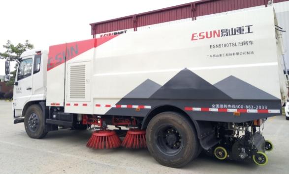 易山重工ESN5070TSLE67吨小型扫路车扫地车(厂家价,可低价出租)