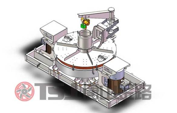 唐山金路VS1663五室制砂选粉一体机
