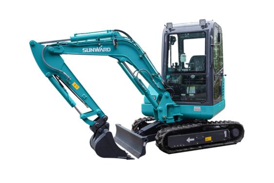 山河智能SWE25F微型挖掘机
