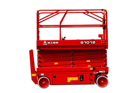 临工重机S1012液驱剪叉式高空作业平台