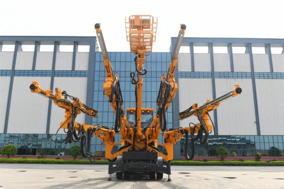 铁建重工ZY82两臂8米级半智能隧道凿岩台车