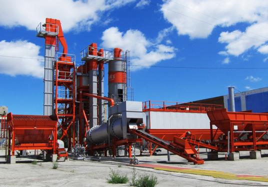 德基机械DG1300常规型沥青混合料搅拌设备