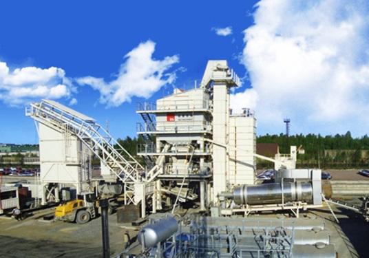 德基机械DGC2000集装箱模块式沥青混合料搅拌设备