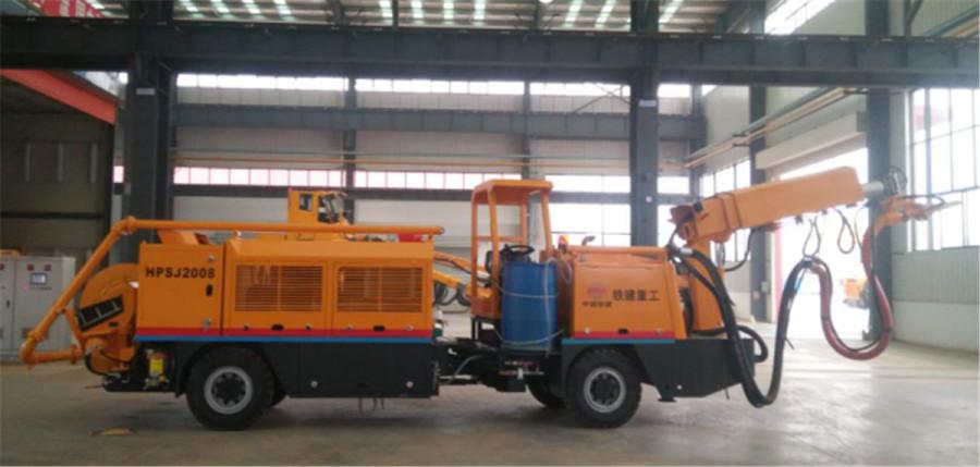 铁建重工ZY41矿用混凝土湿喷机