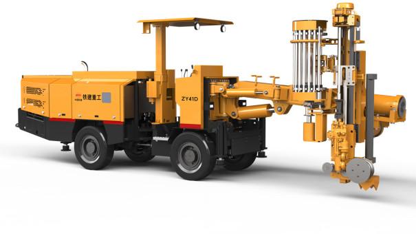 铁建重工ZY61D矿用中深孔凿岩台车