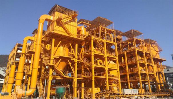 铁建重工LZS150环保型精品机制砂成套装备