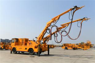 铁建重工HPS5016G双臂混凝土湿喷机