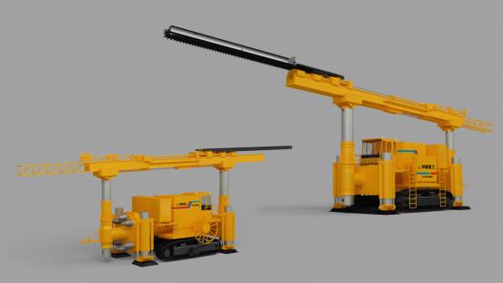 铁建重工YQC7000中心轴式预切槽机
