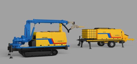 铁建重工HPS08+HBS30喷射机组