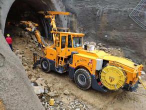 铁建重工ZP82钻劈台车高清图 - 外观