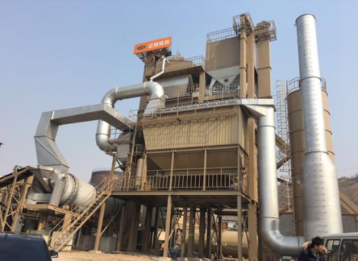 辽筑LJD4000间歇式再生沥青混凝土搅拌设备