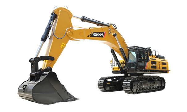 三一重工SY870H大型挖掘机