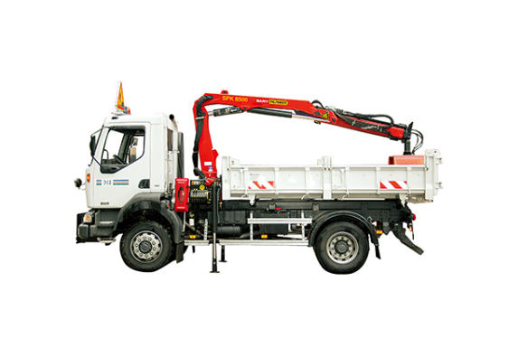三一重工SPK85007.6吨米折臂式随车起重机