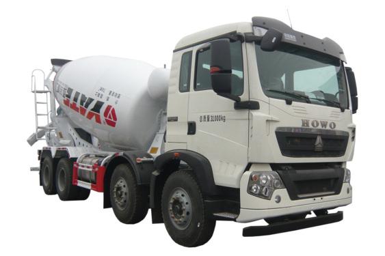 亚特重工TZ5317GJBZCGF国六豪泺T5G  8*4混凝土搅拌运输车
