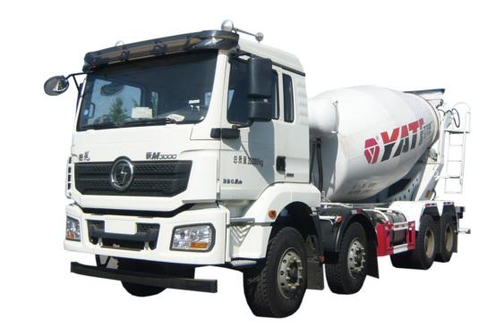 亚特重工TZ5319GJBSCFM国六 德龙 8*4混凝土搅拌运输车