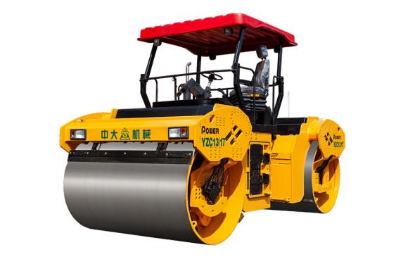 中大机械Power YZC13/17超重吨位变质量轮胎式压路机