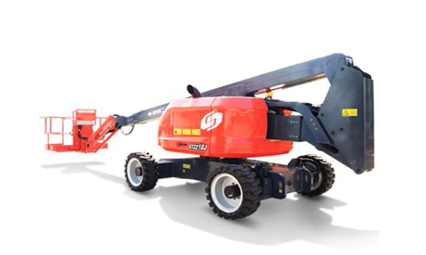 星邦重工GTZZ18J自行曲臂式高空作业车