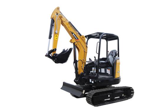 三一重工SY26U微型挖掘机