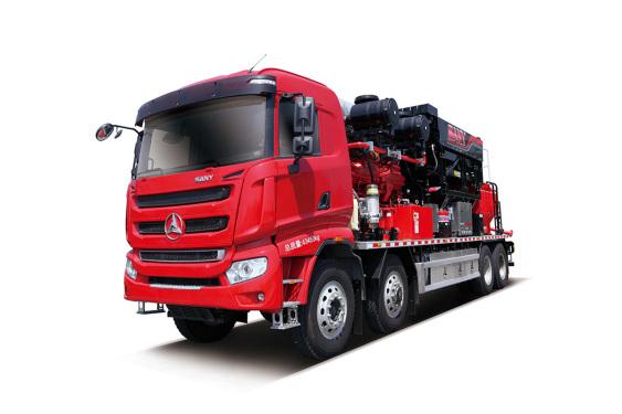 三一重工SYN5442TYL1860C2500型机械式压裂车