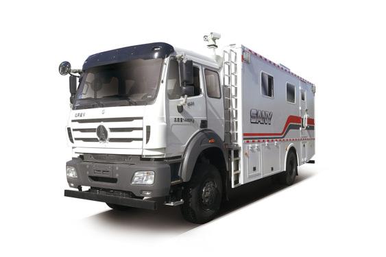 三一重工SYN5142TBC4×4智慧仪表车