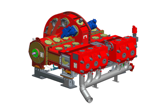 三一重工SY系列 液压驱动压裂泵
